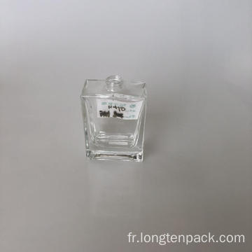 Bouteille de verre rectangle5 30ml