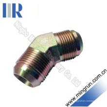 45 Coude Jic Mâle Adaptateur Hydraulique Tube Adaptateur (1J4)