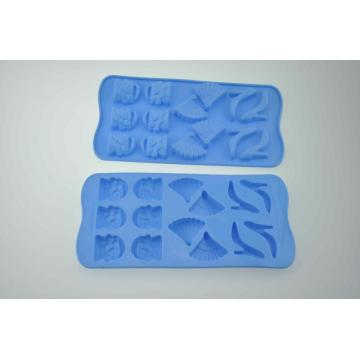 Love Hearts Shape Tray Silicone Cake Chocolate Maker