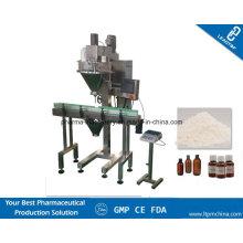 Máquina de llenado de polvo de café de barrena con pesadora