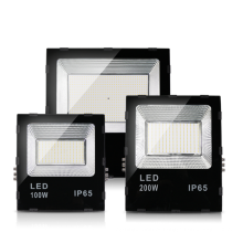50 watts 100 w 200 w holofote LED externo