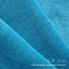 Tela de nylon macia super flexível do veludo de algodão 28W ligada para o estofamento