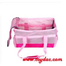 Mode rosa Korb Haustier Reisetasche