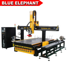 1530 CNC Router Wood Carving Machine Woodworking Machinery with 8 Slots Carousel Type Tool Magazine for Wood Furniture Industry