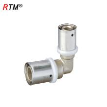 J17 4 6 12 Hochwertiger mehrschichtiger Rohrfittings mit reduziertem Winkel