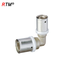J17 4 6 12 High Quality Multilayer Reduced Elbow Pipe Press Fitting