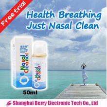 Pulverizador nasal fisiológico sem efeito secundário