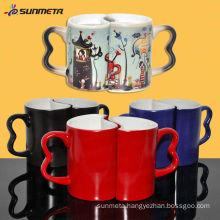 Sublimation Color Changing Couple Mug