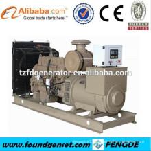 AC 3 phase water cooled 4 stroke diesel engine generator,diesel electric power plant generator