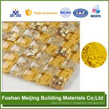 le plus bas prix 10% de réduction acrylique pigments fabricant de mosaïque de verre