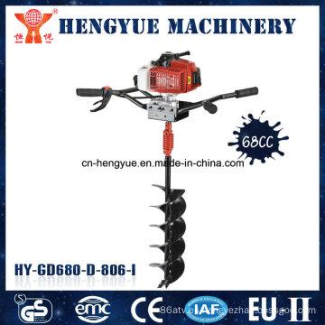 Venta caliente de productos de alta calidad de la máquina de perforación de tierra 68 CC