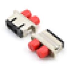 FC-SC Hybrid Simplex / Duplex Singlemode / Multimode cobre Fiber Adapter