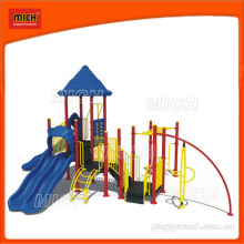 Детский пластиковый наружный слайд (2272B)