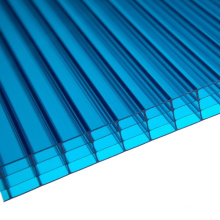 Multiwall Sheet 4-Wall Sheet Skylight Roofing Sheet (manufacturer, OEM avaliable)