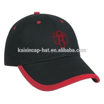 черный 100% хлопок Артикул логосом вышивки сандвича моды бейсболки