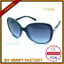 Neu gestarteten Frauen Mode Sonnenbrillen China Fanufacturer (F15494)