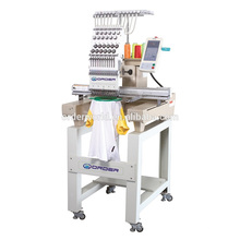 Computerized T- shirt/ Cap Single Head Embroidery Machine with high speed