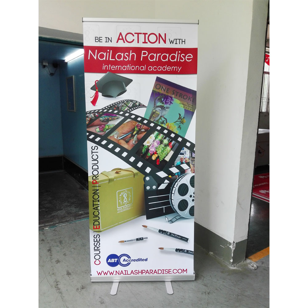 aluminum alloy roll up banner