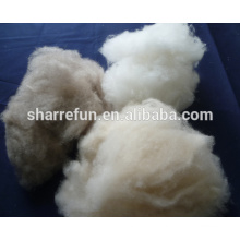 Manufacturer carded and dehaired Inner Mongolian cashmere fiber Lt.grey