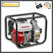 Pompe à eau centrifuge jaune d'essence de 3 pouces pour l'irrigation