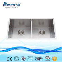 Évier de cuisine en acier inoxydable de haute qualité avec hexagone et dessous jetable