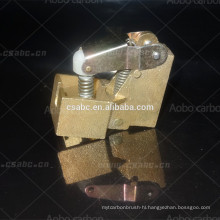 copper carbon brush holder for industrial motor