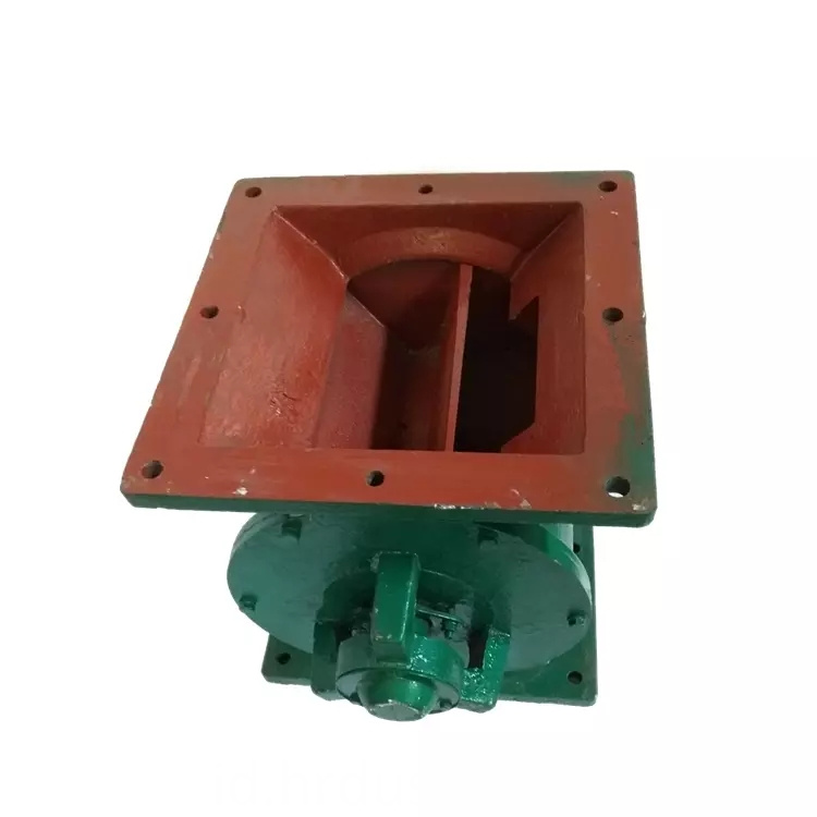Wear-resistant air brake feed rotary valve