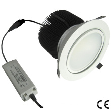 6W/30W Dimmable Pure White Adjustable COB LED Down Light