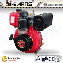 6HP Diesel Engine with Spline Shaft Red Color (HR178F)