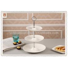 3-stufiger keramischer hängender Kuchenständer