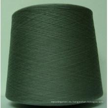 Hilo de algodón reciclado HB182 Open End Ne 6/1 poliéster