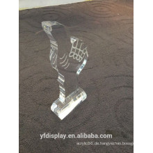 Hoher klarer Acryltrophäen-Cup, Trophäen-Preis, Sport-Preis