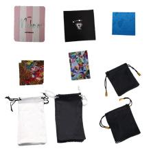 High Quality Custom Print Chamois Fabric Glass Cellphone Piano Wipe Microfiber Cleaning Towel