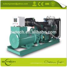 Комплект генератора 400kw/500KVA набор электрический генератор, работающий от двигателя Volvo TAD1345GE