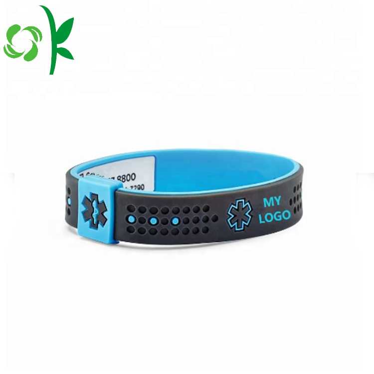 Printed Silicone Power Bracelet