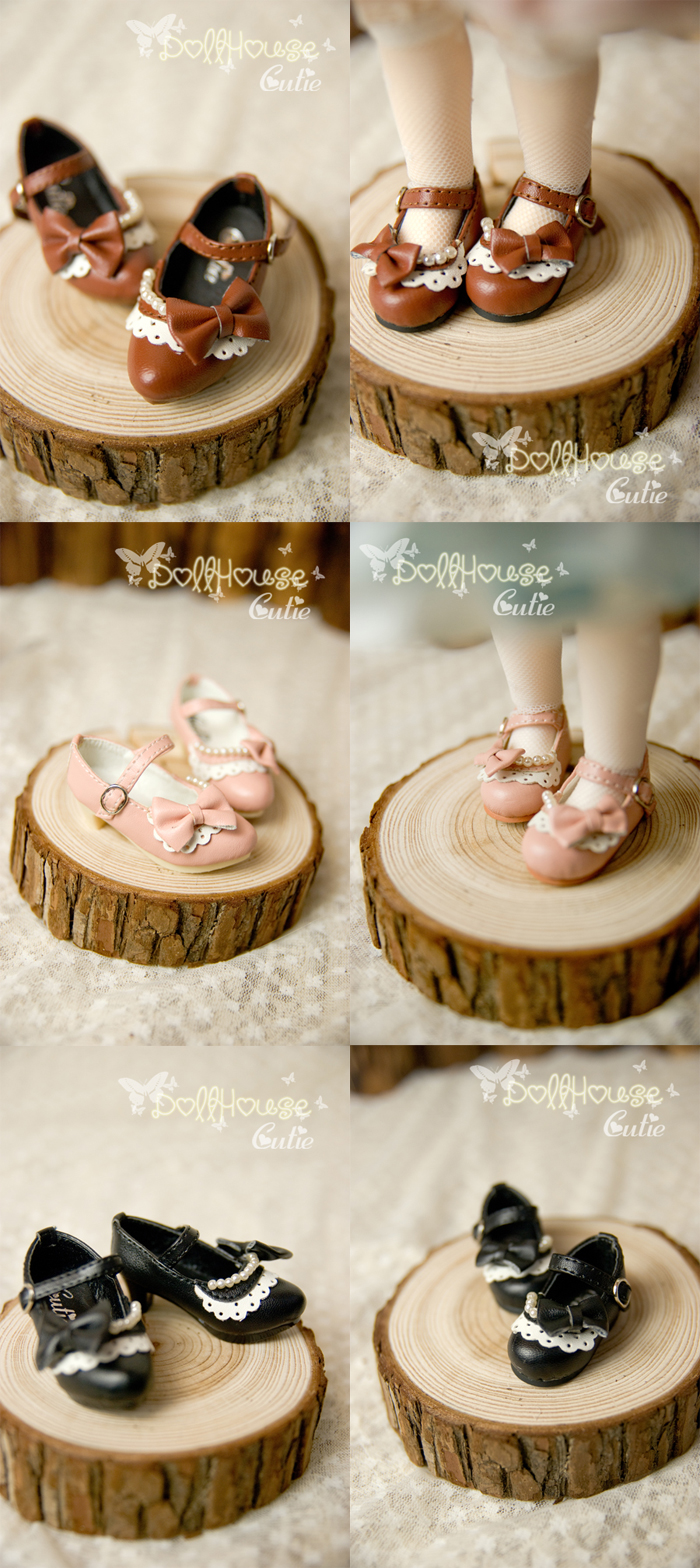 Girl Shoes for YSD/MSD Jointed Doll
