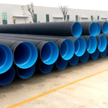 SN4 SN8 SN16 18inch 24inch hdpe double wall corrugated PE drainage pipe dwc hdpe plastic culvert pipe