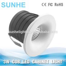 3W COB Cabinet Spot Light 350mA COB Mini Led Schrank Licht Runde Dongguan