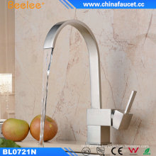 Beelee Copper Kitchen Water Basin Faucet with Single Handle