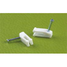 Telephone Wire Clips (PE, WHITE)