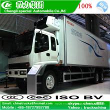 Movimentação da mão esquerda Isuzu Ftr 15tons congelamento caminhão