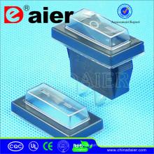 Cubierta impermeable de interruptor de balancín transparente de alta flexibilidad