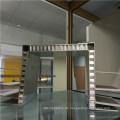 Zwei Seiten Biege Aluminium Wabenplatten Ausstellungsstand Platten