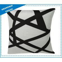 Coussin décoratif à motif de linge de lit