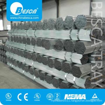 International Trade UL CE Standard Electrical Steel EMT Conduit