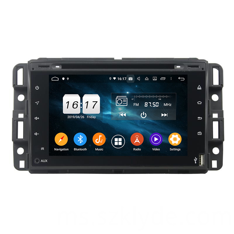 GMC 2007-2012 dvd player touch screen