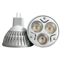 Meilleur prix 3 * 1W MR16 LED Spot Light