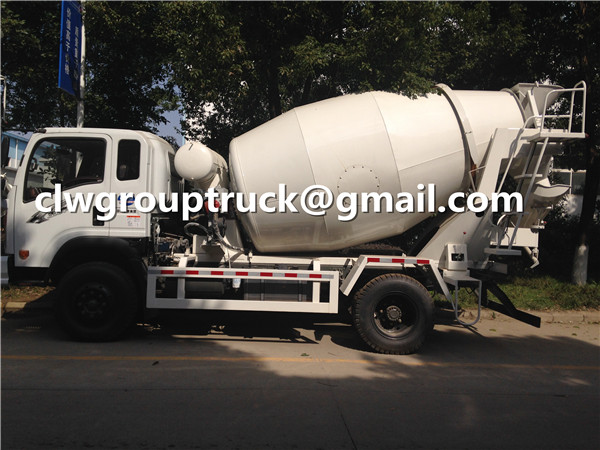 6CBM Small Concrete Mixer Truck