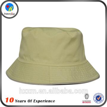 Most popular cotton blank plain bucket hat