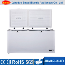 Folding Door Double Temperature Chest Deep Freezer